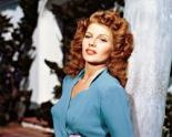 Rita Hayworth - ideal to play my Constance, were she still with us.