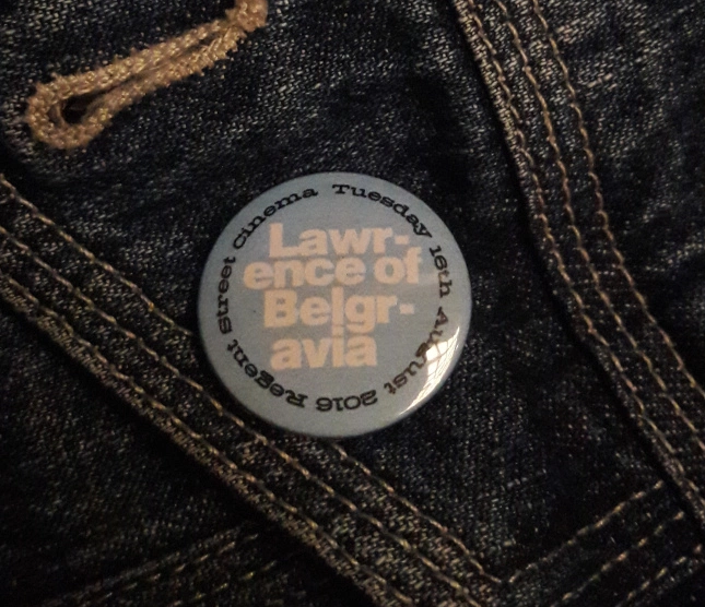 Lawrence badge 1